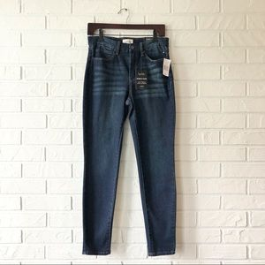 NEW Nicole Miller high waist stretchy skinny jeans